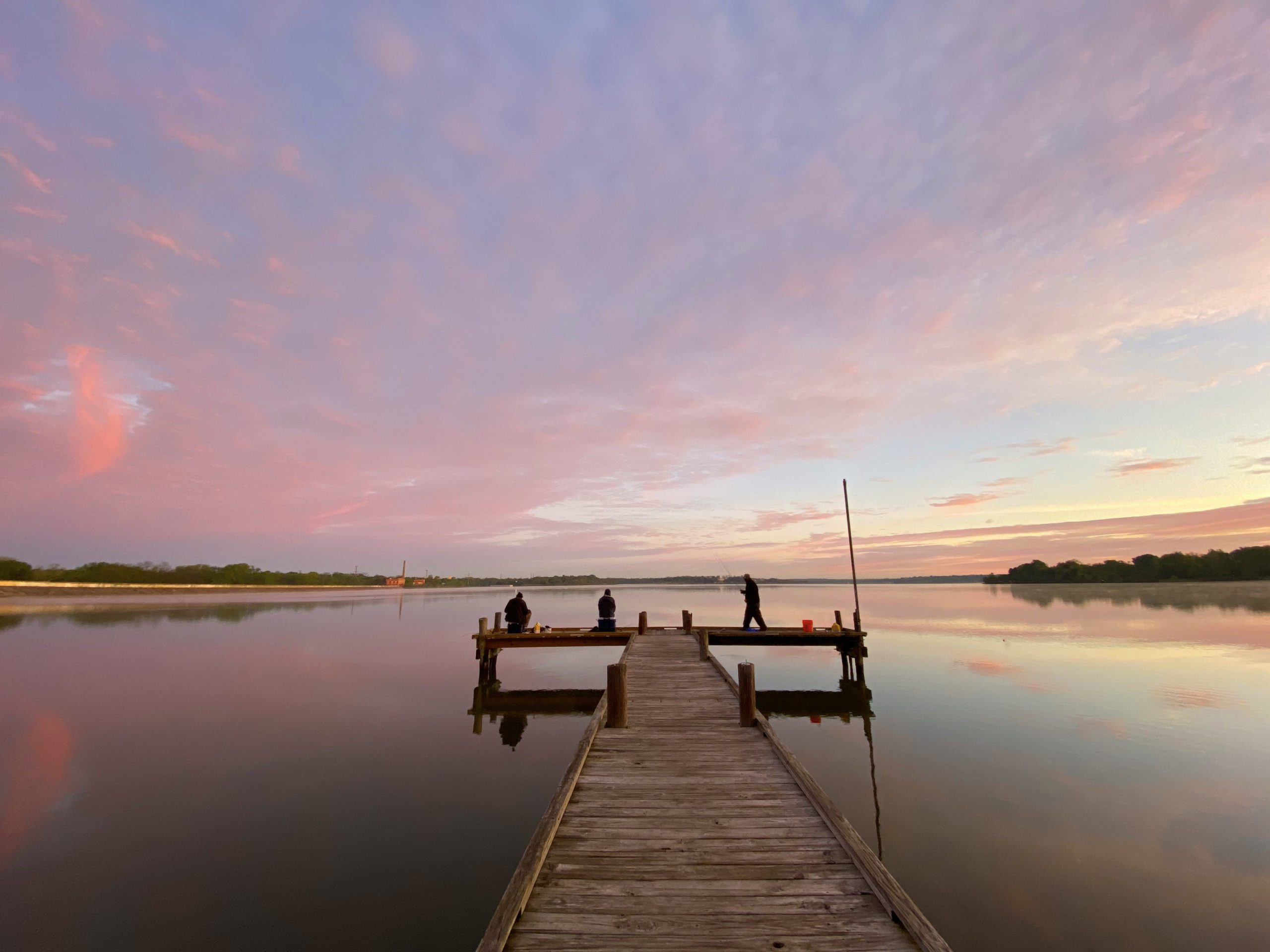 Dock Sunrise by Sue Benner